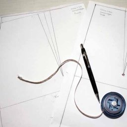 Adding seam allowance to sewing pattern