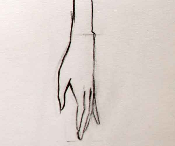 drawing-hand